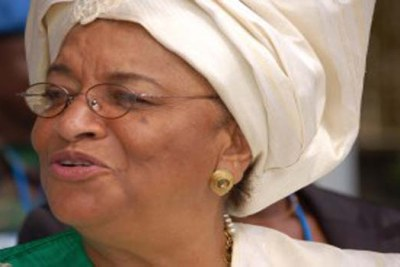 At her inauguration, Sirleaf said corruption is a