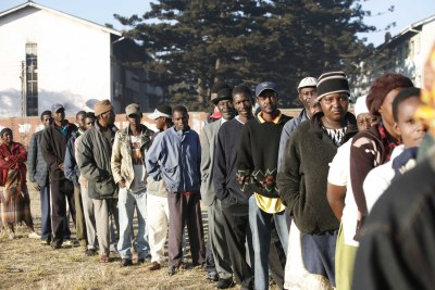Voting queue (file photo).