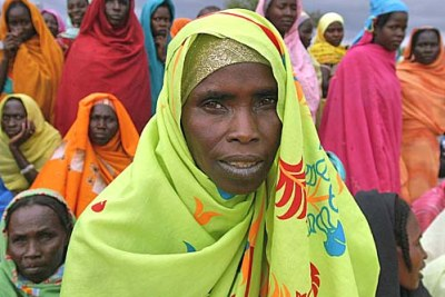 The town of Sam Ouandja is home to thousands of refugees from the western Sudanese region of Darfur (file photo).