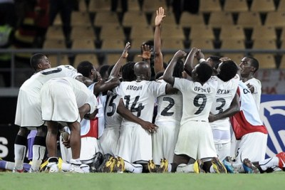 The Black Stars of Ghana (file photo).
