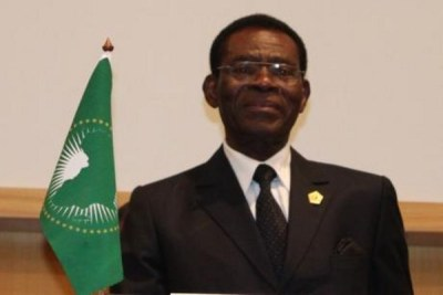 President Obiang.