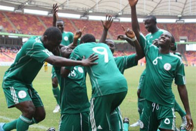 Nigeria's Flying Eagles.