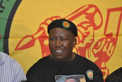 ANC Youth League leader, Julius Malema.