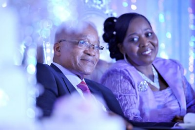 President Jacob Zuma and his wife Bongi Ngema at their traditional ceremony known. The revamped house would contain 10 air conditioned rooms, underground living quarters, a clinic for Zuma and his family, 10 houses for security personnel, a helipad, houses for air force and police units, underground parking, playgrounds and visitors centres.