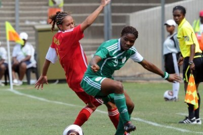 Nigeria Falcons defeated Zim Mighty Warriors 2-0.