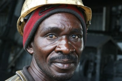 A miner from Maseru.