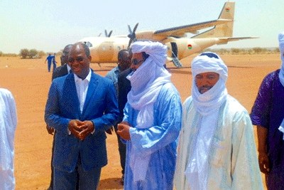 A Burkinabe minister mediates with Islamists in northern Mali.