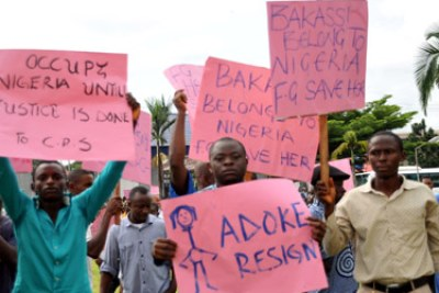 Bakassi protests