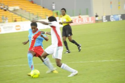 Equatorial Guinea finished group stages of the 8th African Women Championship (AWC) finals with a warning note after crushing Senegal  5-0.