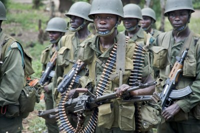 FARDC soldiers (file photo).