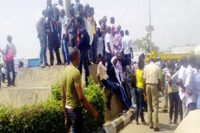 University of Abuja protest
