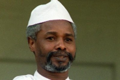 Former president of Chad, Hissene Habre.