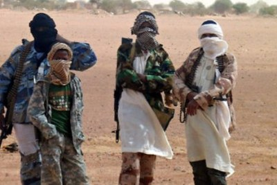 (Photo d'archives) - Des membres de Boko Haram