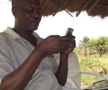 What a Cell Phone Can Do For a Nigerian Quail Farmer