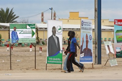 Campaign in Nouakchott (file photo)