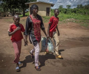 A Central African Refugee's Reunion With Her Sons Brings Joy and Sorrow