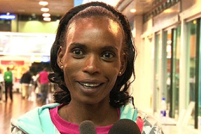 Rita Jeptoo (file photo).