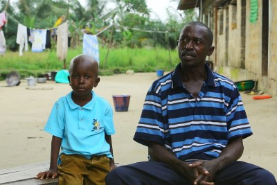 Ebola survivor William Poopei tells the story of how he and his son, Patrick, recovered from the virus.