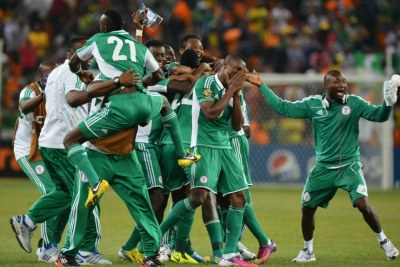 Super Eagles (file photo).
