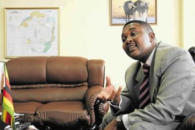 Tourism and Hospitality Industry Minister Walter Mzembi (file photo).