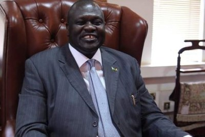 South Sudan's rebel chief Dr Riek Machar