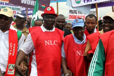 NLC Protest.
