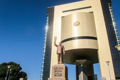 Namibia's Independence Memorial Museum (also known locally as the Coffee Pot) is one of the several constructions built by North Korea.
