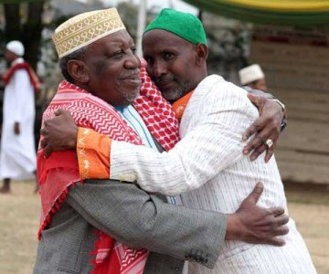 Kenyan Muslims Celebrate Eid
