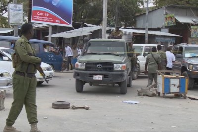 Security in Mogadishu (file photo).