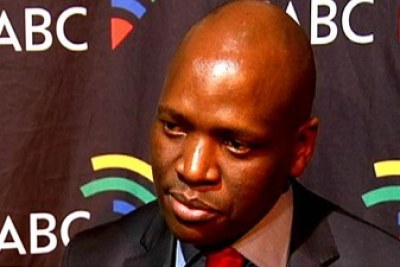 Former SABC COO Hlaudi Motsoeneng (file photo).