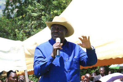 Nasa leader, Raila Odinga.