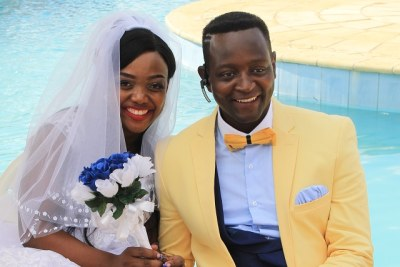 Sulumani Chimbetu and wife Linda Samuriwo (file photo).
