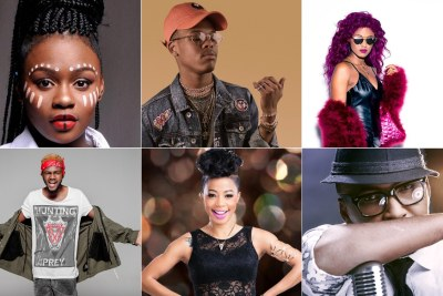 Amanda Black, Nasty C, Babes Wodumo, Kwesta, Kelly Khumalo and Vusi Nova.