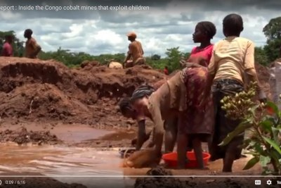 Investigation Shows Child Labor in DR Congo Mines