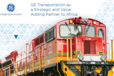 Railways Africa Magazine Issue 1:2017 cover feature looks at how General Electric (GE) Transportation continues build rail capabilities in African countries, with a particular focus on the role the company plays in supporting economic growth and regional integration across the continent.