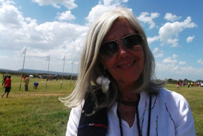 Kuki Gallman, the founder of Gallmann Africa Conservancy, in Laikipia (file photo).