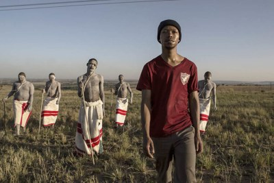 Nakhane Touré stars in 'Inxeba - The Wound'.