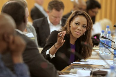 CNN Anchor, Zain Asher moderating a panel on automobile manufacturing which included the Ford Motor Company at CCA's U.S.-Africa Business Summit 2016 in Addis Ababa.