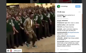 Snoop Dogg Shares Video Of Kenyan Band Sauti Sol on Instagram