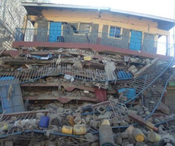Kenya: Seven-Storey Building Collapses in Embakasi