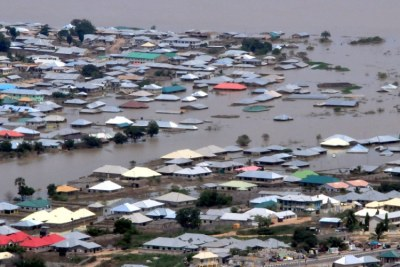 Flooding in Gombe, Nigeria.  (file photo).