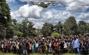 Africa Using Drones to Save Lives - VIDEO