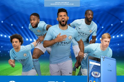 Tecno Mobile is launching the Camon CX Manchester City Limited Edition smartphone.