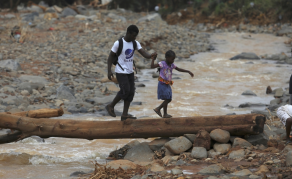 Helping Sierra Leonean Communities Affected By Mudslide