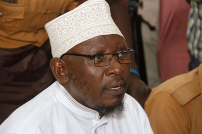 Sheikh Kamoga after being sentenced to life imprisonment.