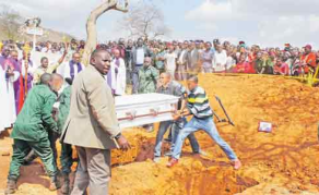 Tanzanian Ex-Minister Buries 6 Relatives Who Died in Uganda Crash