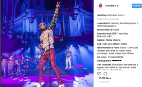 Nigerian Star Wizkid Makes History at Albert Hall in London