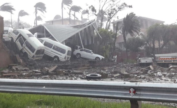 Massive Storm, Floods Hit Durban, South Africa