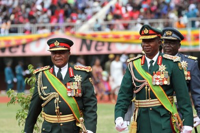 Zimbabwe service chiefs (file photo).
