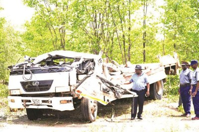 Preliminary reports suggest that the driver was drunk and speeding.